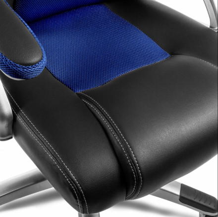 De Gaming Color Sillon Oficina Silla Azul Despacho Rojo Racing O 7ybfgv6YIm